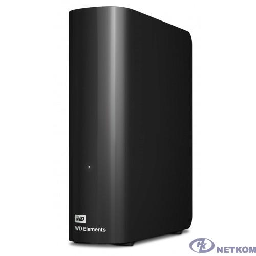 "WD Portable HDD 6Tb Elements Desktop WDBWLG0060HBK-EESN {USB3.0, 3.5"", black}"