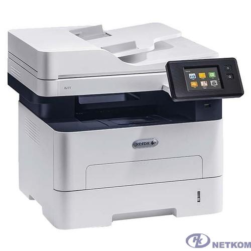 Xerox B215 (B215V_DNI) {A4, P/C/S/F/, 1200x1200, 30ppm, max 30K pages per month, 256MB, Eth, ADF, Wi-Fi, USB} (замена 3215V/NI )