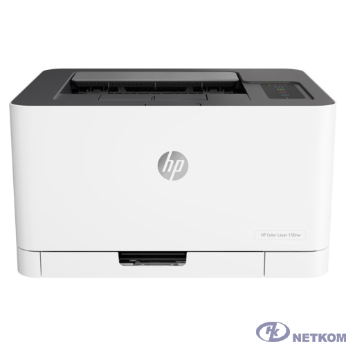 HP Color Laser 150nw (4ZB95A) {A4, 600x600 dpi, 18 стр/мин, 64 МБ, USB, Wi-Fi, AirPrint}