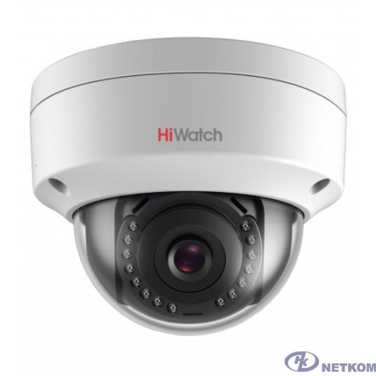HiWatch DS-I252 (2.8 mm) Видеокамера IP 2.8-2.8мм цветная корп.:белый