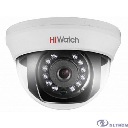 HiWatch DS-T101 (2.8 mm) Камера видеонаблюдения 2.8-2.8мм HD TVI цветная корп.:белый
