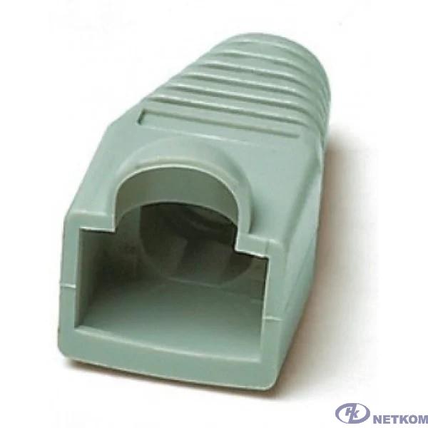 Hyperline BOOT-GN-10 Изолирующий колпачок для Разъемов RJ-45, зеленый (10 шт.)
