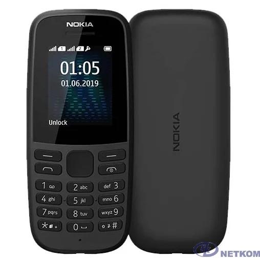 Nokia 105 SS Black [16KIGB01A13]