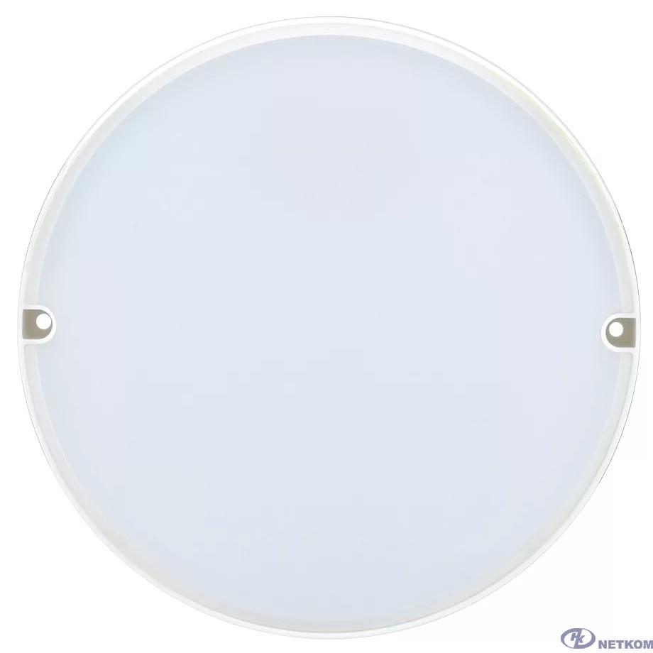 Iek LDPO0-2004-8-6500-K01 Светильник LED ДПО 2004 8Вт 6500K IP54 круг белый