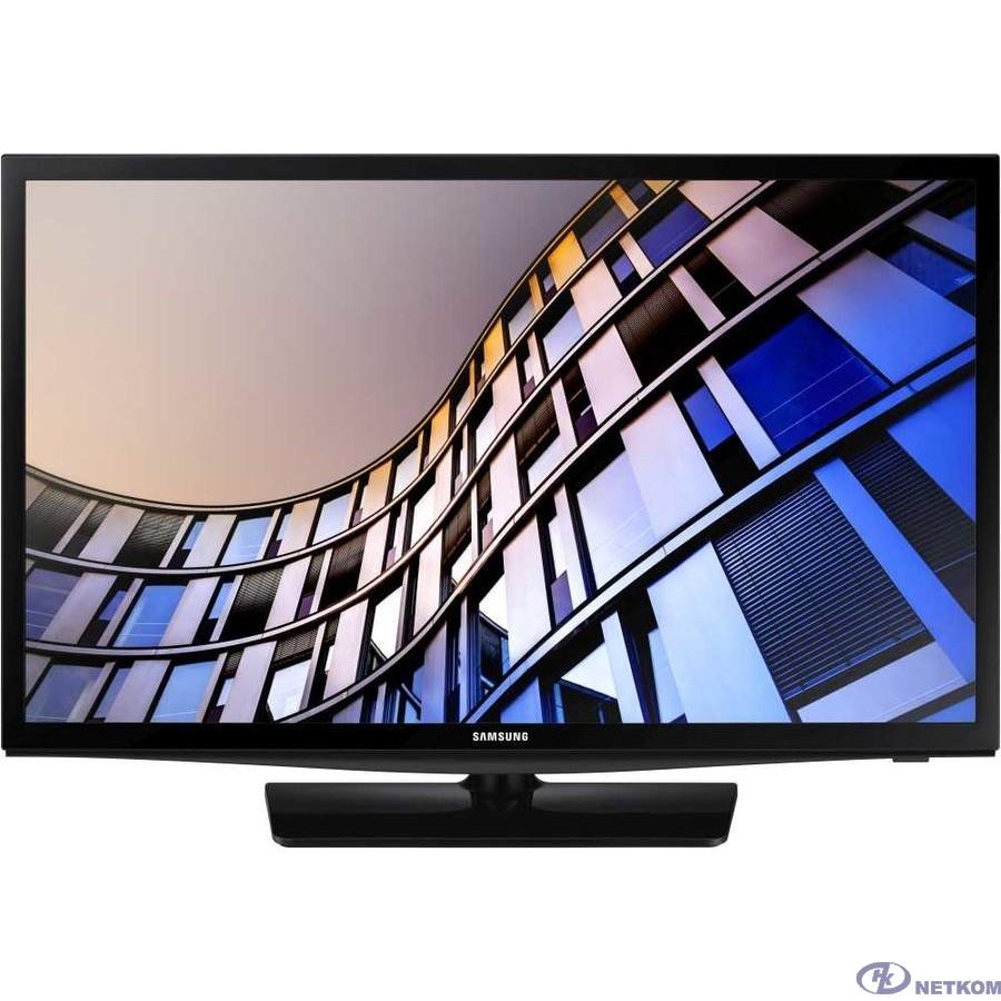 "Samsung 24"" UE24N4500AUXRU черный {HD READY/DVB-T2/DVB-C/DVB-S2/USB/WiFi/Smart TV (RUS)}"