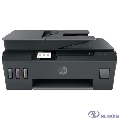 МФУ HP Smart Tank 530 (4SB24A) {A4, 1200x1200dpi, 22 стр/мин (ч/б А4), 16 стр/мин (цветн. А4), 256 МБ, Wi-Fi, USB, Bluetooth}