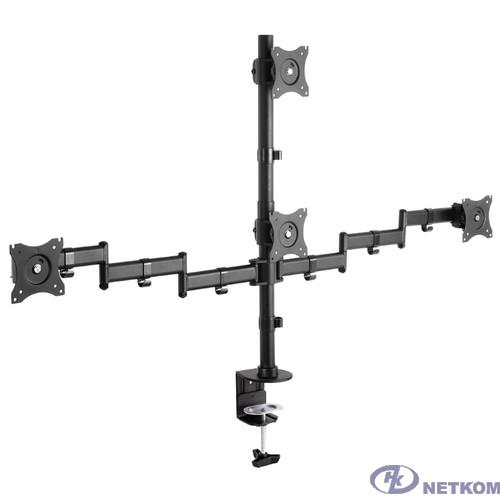 """Arm Media LCD-T16 черный 15""""-32"""" макс.40кг настольный поворот и наклон верт.перемещ."""