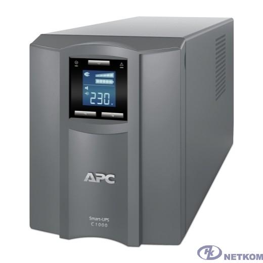 APC Smart-UPS C 1000VA SMC1000I-RS {Line-Interactive, Tower, IEC, LCD, USB}
