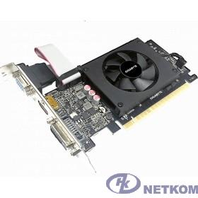 Gigabyte GV-N710D5-2GIL RTL {nVidia GeForce GT 710 2048Mb 64bit GDDR5 954/5010 DVIx1/HDMIx1/CRTx1/HDCP Ret low profile}