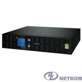 UPS CyberPower PLT1500ELCDRT2U {1500VA/1350W USB/RS-232/EPO/SNMPslot (8 IEC С13)}