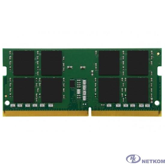 Kingston DDR4 SODIMM 4GB KVR32S22S6/4 PC4-25600, 3200MHz, CL22