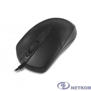 CBR CM 211 Black, Мышь проводная, оптическая, USB, 1000 dpi, 3 кнопки и колесо прокрутки, переходник с USB на PS/2 в комплекте, длина кабеля 1,8 м, цвет чёрный