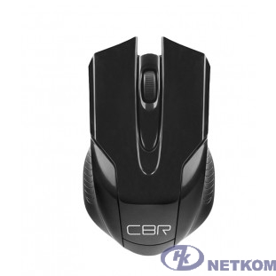 CBR CM 403 Black, Мышь беспроводная, оптическая, 2,4 ГГц, 800/1200/1600 dpi, 6 кнопок и колесо прокрутки, ABS-пластик, цвет чёрный