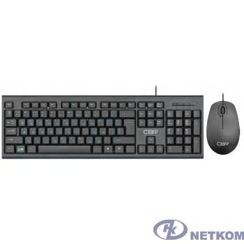 """CBR KB SET 711 Carbon, Комплект (клавиатура + мышь) проводной, USB, поверхность """"под карбон"""", длина кабеля 1,8 м; клавиатура: полноразмерная, 104 кл.; мышь: оптич., 1200 dpi, 3 кн. и колесо прокрутки"""