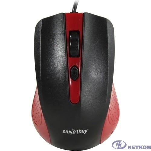 Мышь проводная Smartbuy ONE 352 красно-черная [SBM-352-RK]