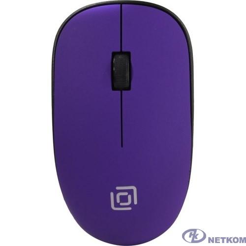 Oklick 515MW черный/пурпурный оптическая (1200dpi) беспроводная USB (3but) [1083058]