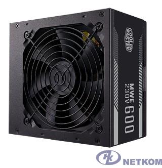 Power Supply Cooler Master MWE White, 600W, ATX, 120mm, 6xSATA, 4xPCI-E(6+2), APFC, 80+ White [MPE-6001-ACABW-EU]