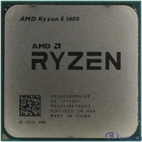 CPU AMD Ryzen 5 1600 OEM {3.2/3.6GHz Boost, 19MB, 65W, AM4} [YD1600BBM6IAF]