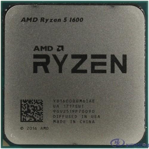CPU AMD Ryzen 5 1600 BOX {3.2/3.6GHz Boost, 19MB, 65W, AM4} [YD1600BBAFBOX]