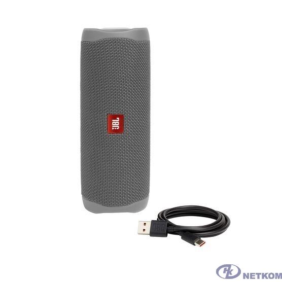 Портативная колонка JBL FLIP 5 серый 0.54 кг JBLFLIP5GRY