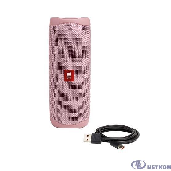 Портативная колонка JBL FLIP 5 розовый 0.54 кг JBLFLIP5PINK