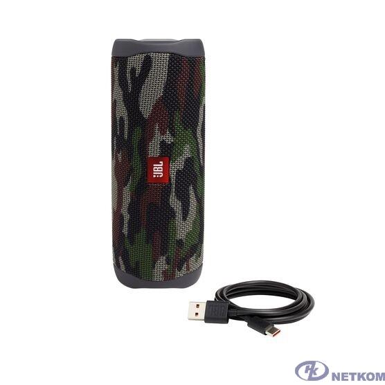 Портативная акустическая система JBL Flip 5 камуфляж JBLFLIP5SQUAD