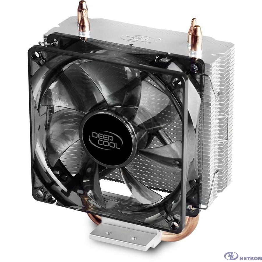 Cooler Deepcool GAMMAXX200 V2 Soc-FM2+/AM2+/AM3+/AM4/1150/1151/1155/ 4-pin 18-24dB Al+Cu 100W 326gr Ret