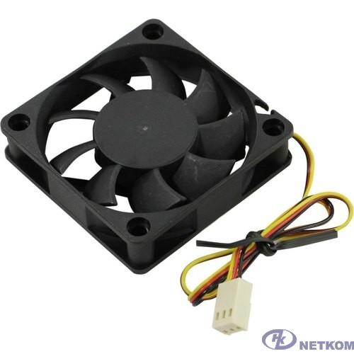 Exegate EX281212RUS Вентилятор ExeGate Mirage-S 60x60x15 подшипник скольжения, 3500 RPM, 26dB,  3pin