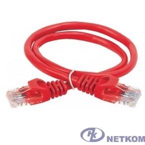ITK Коммутационный шнур кат. 5Е UTP LSZH 3м красный