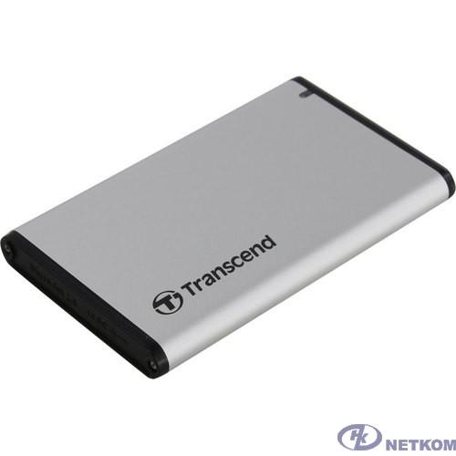"Флеш-накопитель Transcend 0GB [TS0GSJ25S3] Внешний корпус Комплект для установки 2.5"" SSD/HDD. Внешний корпус для установки 2.5"" SSD/HDD изготовлен из алюминия"