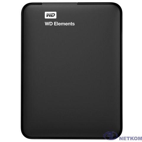 "WD Portable HDD 1Tb Elements Portable WDBMTM0010BBK-EEUE {USB3.0, 2.5"", black}"