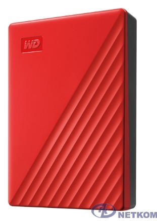 "WD My Passport WDBPKJ0040BRD-WESN 4TB 2,5"" USB 3.0 red"