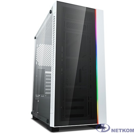 Deepcool MATREXX 55 V3 ADD-RGB WH ATX, White, RGB strip, Стекл. фронтальная и боковая панели, Без БП