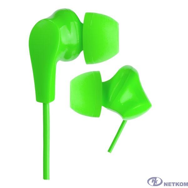 Perfeo наушники внутриканальные NOVA зеленые
