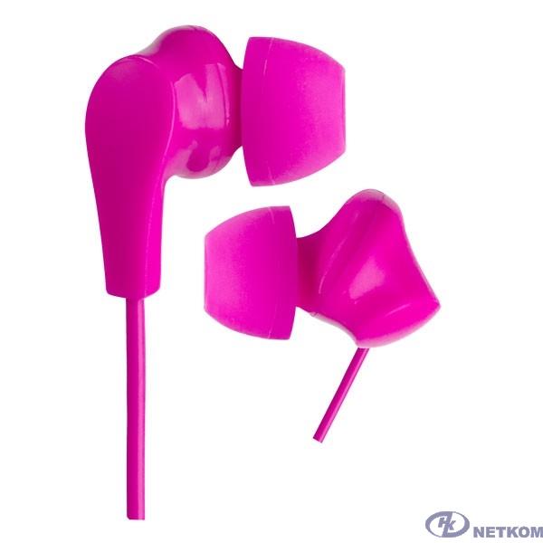 Perfeo наушники внутриканальные NOVA розовые