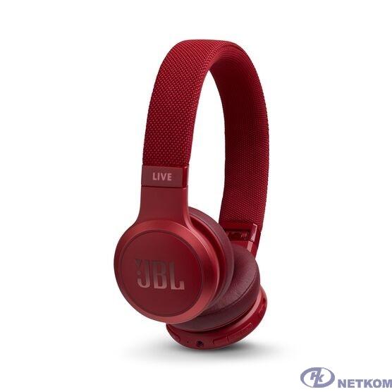 JBL Наушники беспроводные JBL Live 400 BT, красные