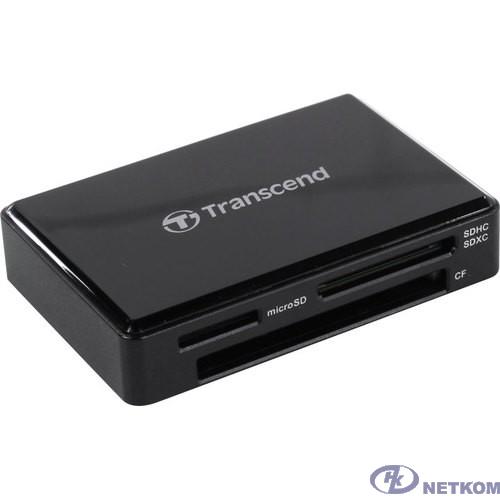 Считыватель карты памяти Transcend USB3.1 Gen1 All-in-1 Multi Card Reader,Type C [TS-RDC8K2]