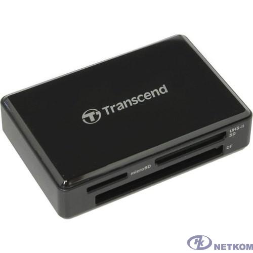 Считыватель карты памяти Transcend USB3.1 Gen1 All-in-1 UHS-II Multi Card Reader [TS-RDF9K2]