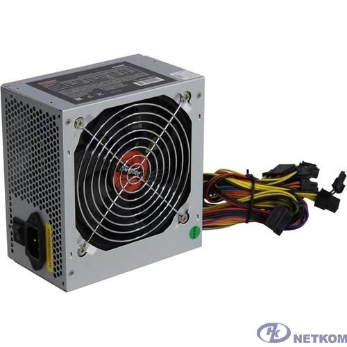 Exegate ES282068RUS Блок питания 550W ExeGate Special UNS550, ATX, 12cm fan, 24p+4p, 6/8p PCI-E, 3*SATA, 2*IDE, FDD