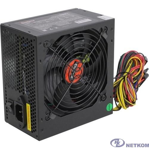 Exegate EX282071RUS Блок питания 550W ExeGate 550NPX, ATX, black,12cm fan, 24p+4p, 6/8p PCI-E, 3*SATA, 2*IDE, FDD