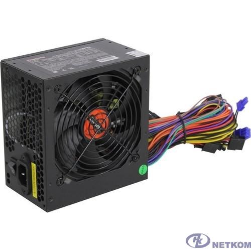Exegate EX282072RUS Блок питания 550W ExeGate 550PPE, ATX, black, APFC, 12cm, 24p+(4+4)p PCI-E, 3*IDE, 5*SATA, FDD
