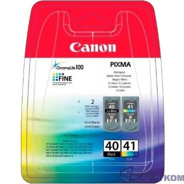 Canon PG-40/CL-41  Набор картриджей  для Pixma IP1200/1600/2200/6210D/6220D, MP150/170/450