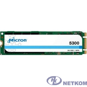 Micron 5300 PRO 960GB M.2 SATA Non-SED Enterprise SSD MTFDDAV960TDS-1AW1ZABYY