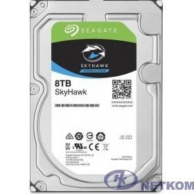 8TB Seagate SkyHawk (ST8000VX004) {SATA 6 Гбит/с, 7200 rpm, 256 mb buffer, для видеонаблюдения}