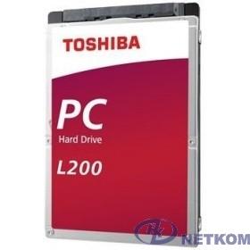 """1TB Toshiba L200 Slim (HDWL110UZSVA/HDKCB88ZKA01T) {SATA-III, 5400RPM, 128MB, 2.5"""", 7mm}"""