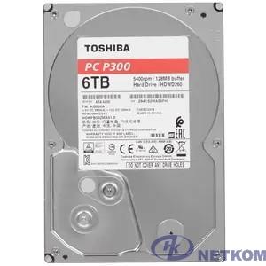 "6TB Toshiba P300 (HDWD260UZSVA) {SATA 6.0Gb/s, 5400 rpm, 128Mb buffer, 3.5""}"