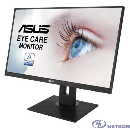 """ASUS LCD 23.8"""" VA24DQLB черный {IPS 16:9 1920x1080 5ms(GTG) 75Hz 250cd 178/178 HDMI D-Sub DisplayPort USB 2x2W VESA (+ MiniPC kit included) HAS Swivel Pivot Frameless} [90LM0541-B01370]"""