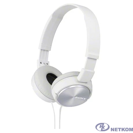 Sony MDR-ZX310 1.2м белый проводные (оголовье)