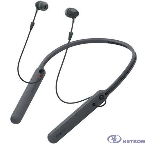 Sony WI-C400 черный беспроводные bluetooth (нашейный держатель)