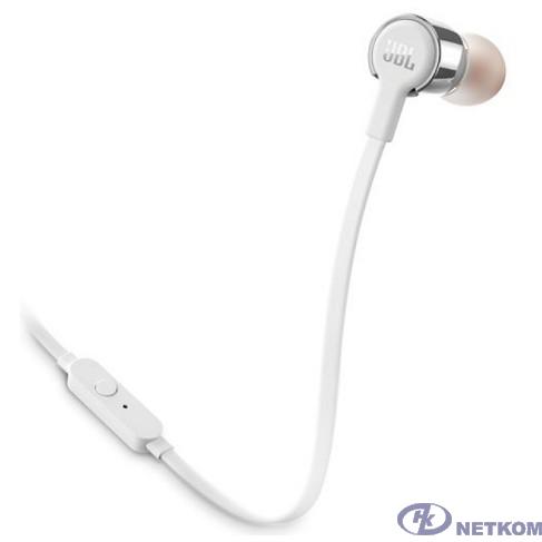 JBL Гарнитура T210, 16 Ом, 98 dB, серый [JBLT210GRY]